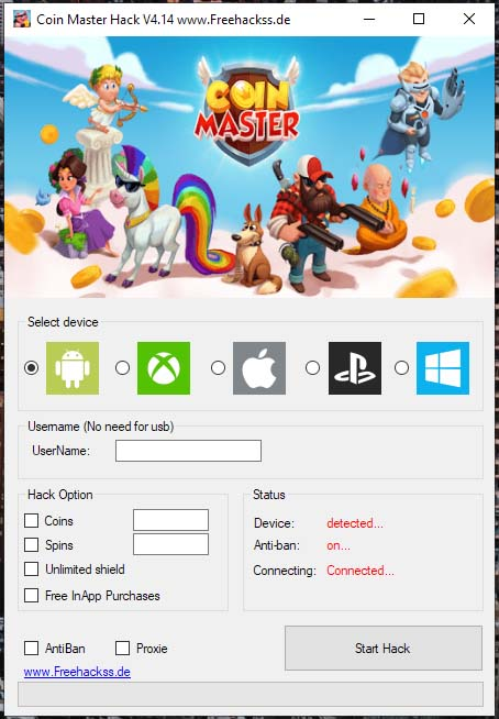 coin master free coins hack