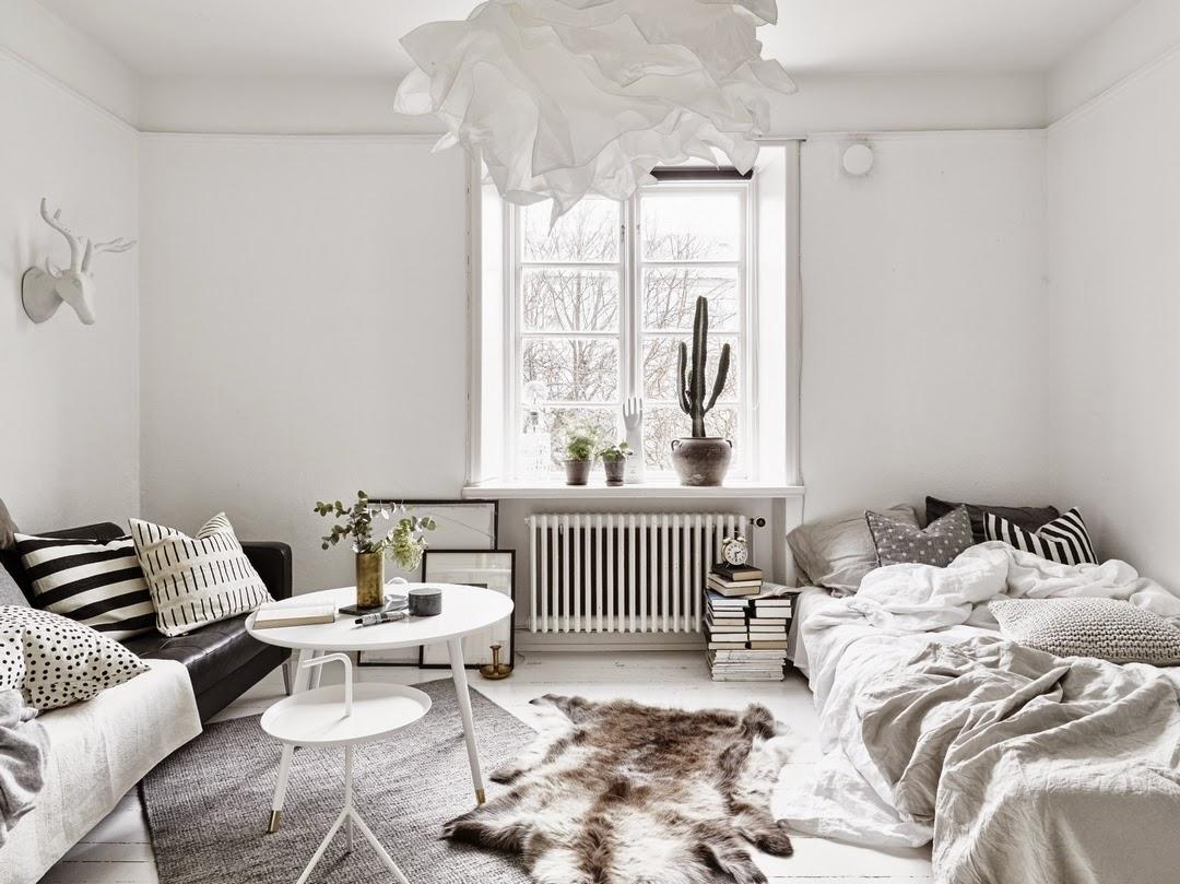 HOME & GARDEN: 19 idées pour mettre un lit dans son salon