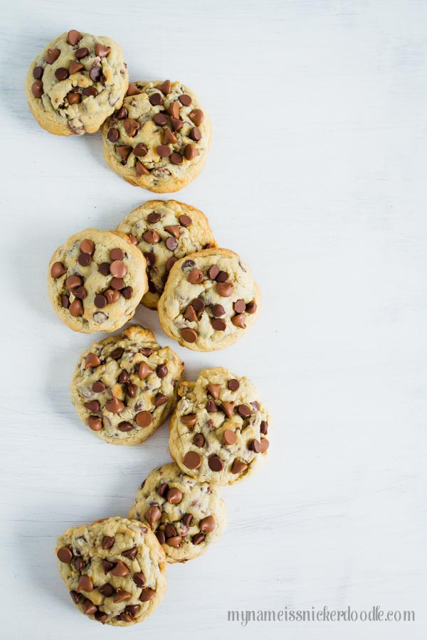 This just might be the most perfect recipe for Big and Chewy Chocolate Chip Cookies!       mynameissnickerdoodle.com