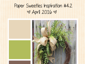 Paper Sweeties Inspiration Challenge #42 - April 2016