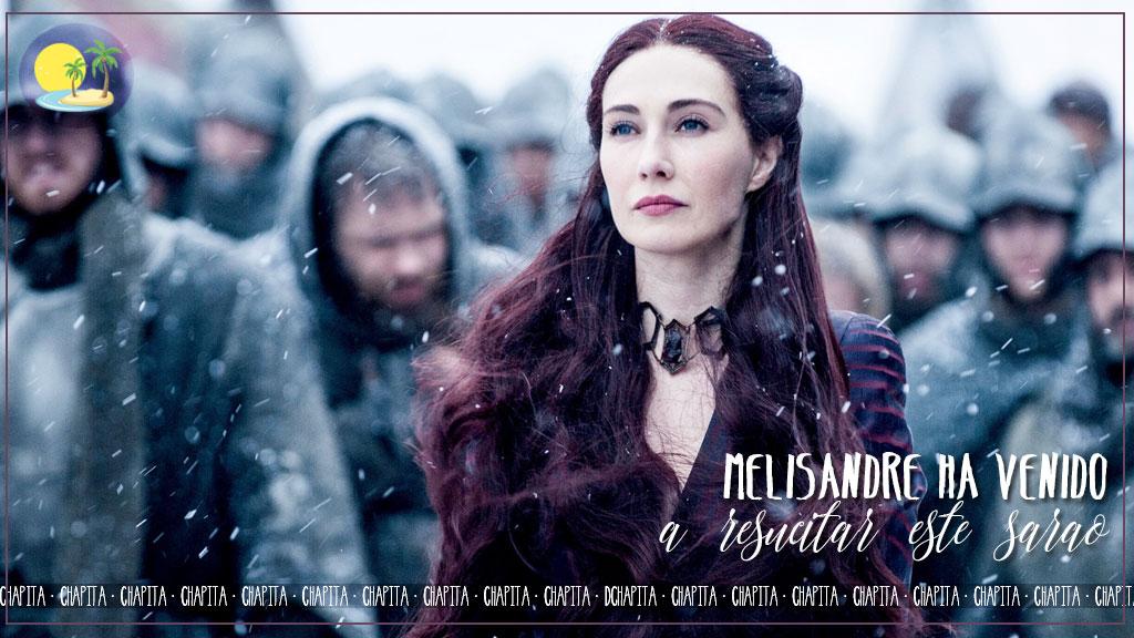 Portada - Melisandre ha venido a resucitar este sarao