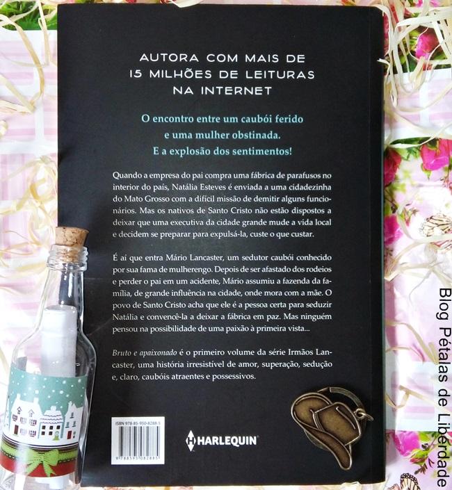 Resenha, livro, Bruto-e-apaixonado, Janice-Diniz, irmaos-lancaster, harlequin, blog-literario, petalas-de-liberdade