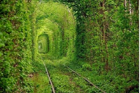 A szerelem alagútja Ukrajnában