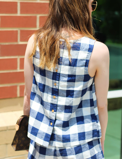 Gingham top- Old Navy