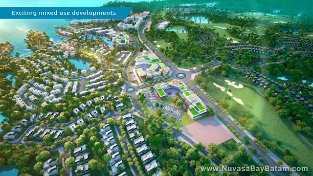 Nuvasa Bay Batam Landscape