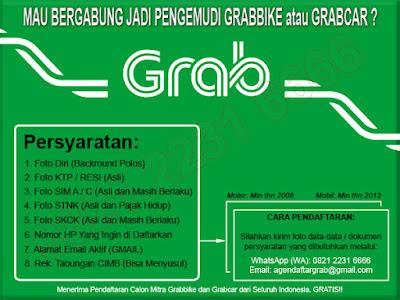 Cara Daftar Grabbike Grabcar