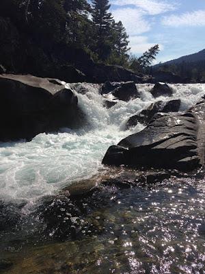 Castle Falls, Castle Provincial Park