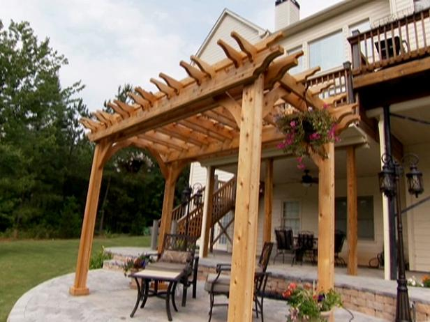 Manufacturer and install wooden pergola in uae.