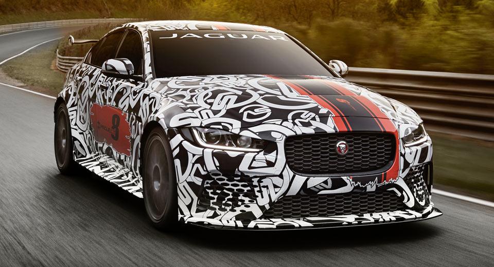The Jaguar XE is About to Get a Whole Lot Hotter
