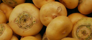 Turnips dishes
