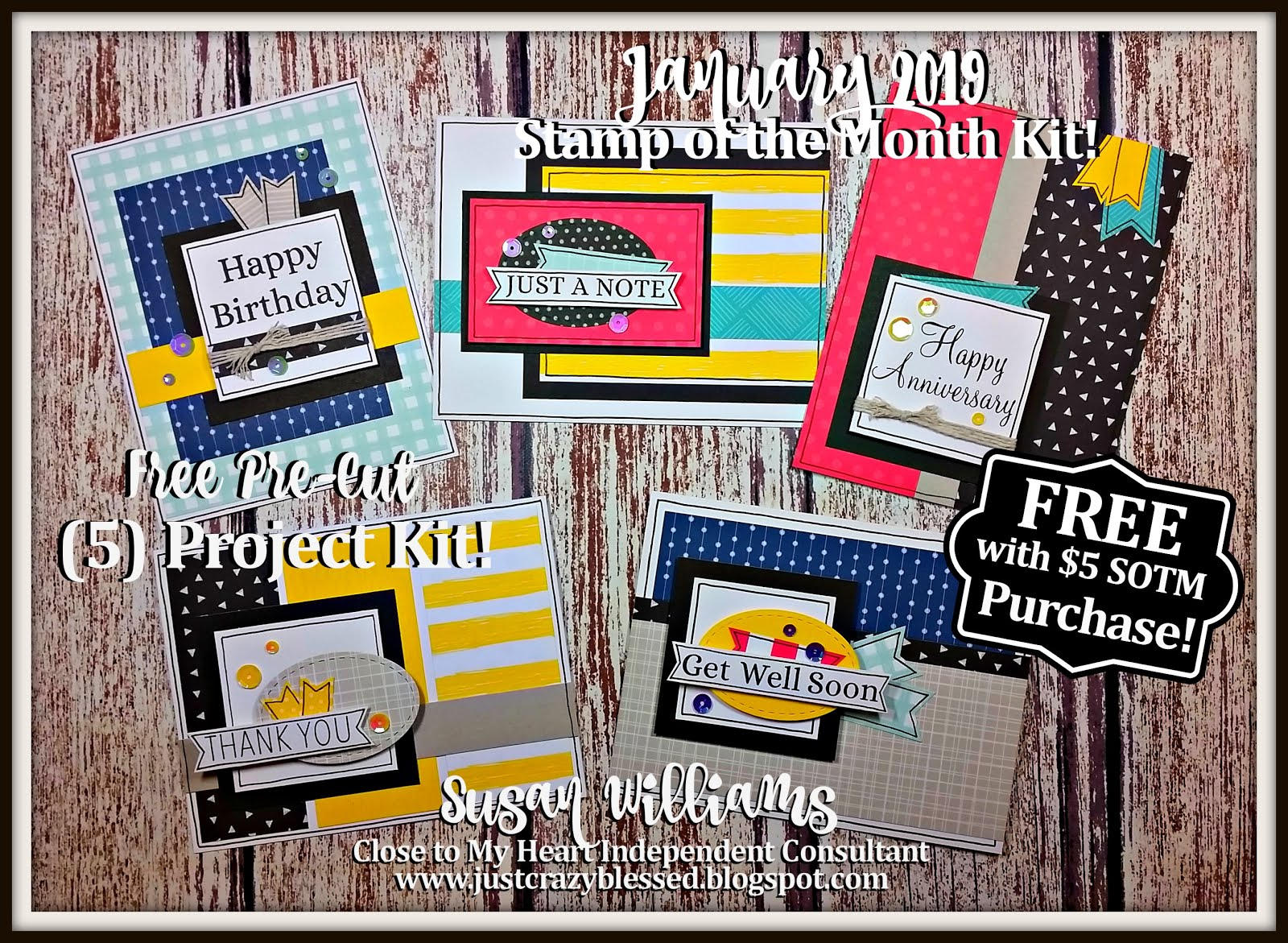 January 2019 Stamp of the Month Workshop!