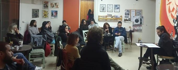 Ανταπόκριση της εκδήλωσης του Σαββάτου 7.12 για τα νεολαιίστικα κινήματα στην Ελλάδα