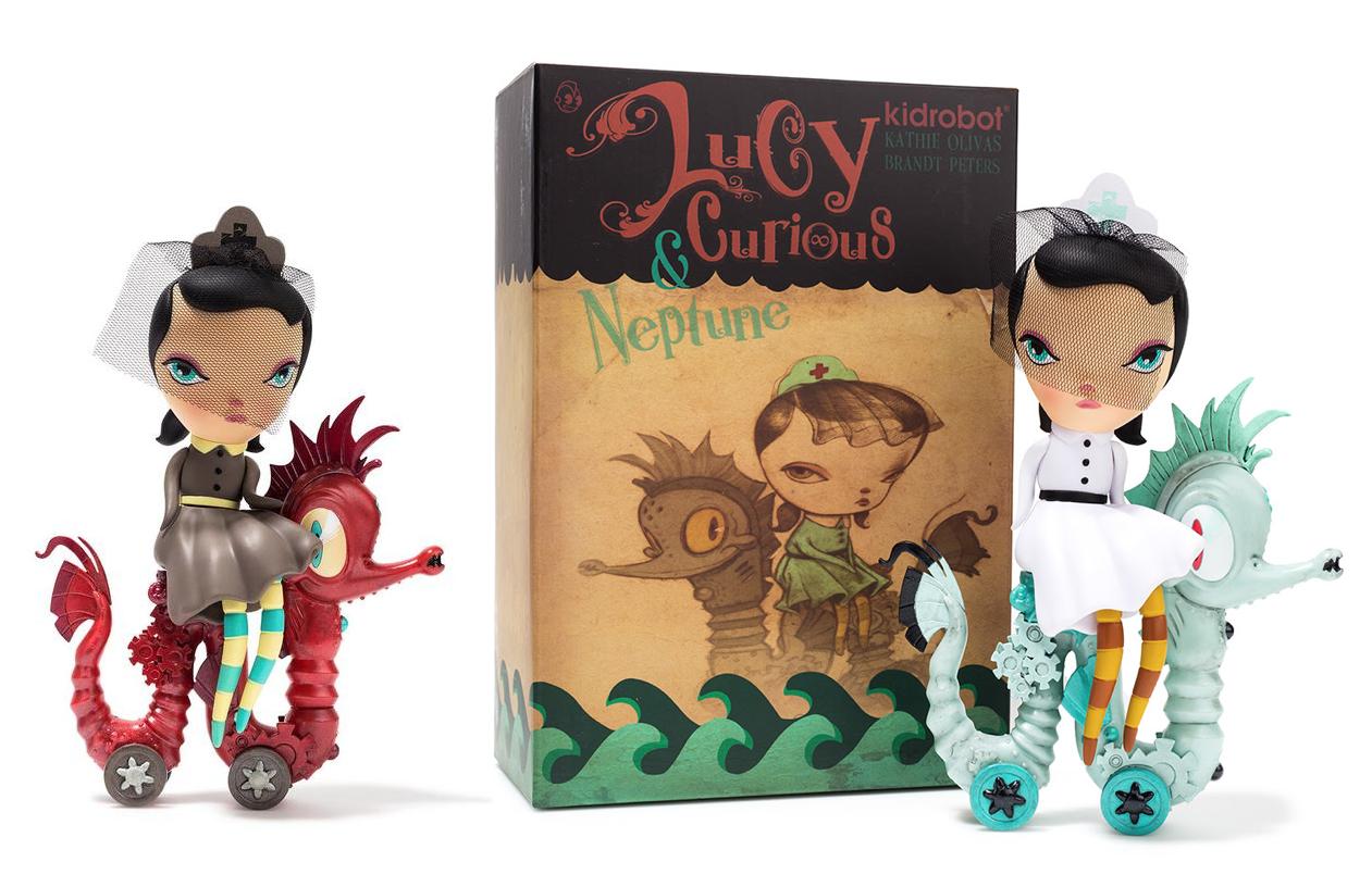 LUCY CURIOUS NEPTUNE By Kathie Olivas X Brandt Peters Kidrobot For Dec 11th Release