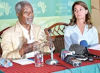 Koffi Annan, Melinda Gates