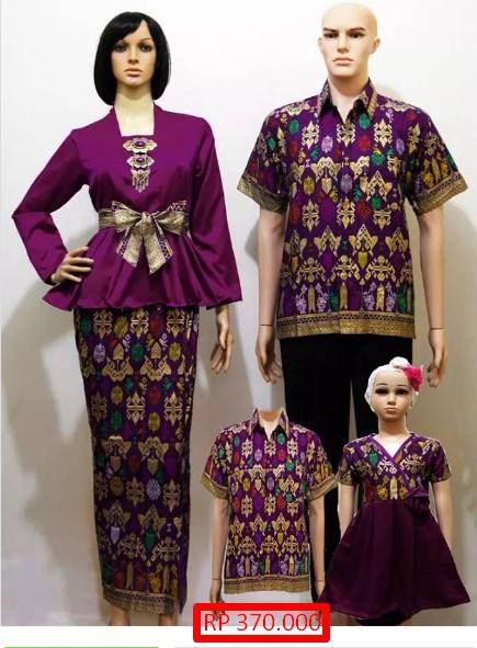Gambar Model Baju Batik Untuk Perpisahan Smp