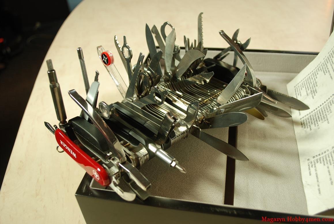 53403b9b7eb9 Wenger Giant Swiss Army Knife - modelings