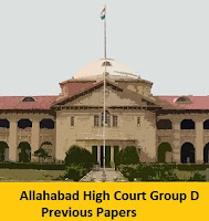 Allahabad High Court Group D Previous Papers