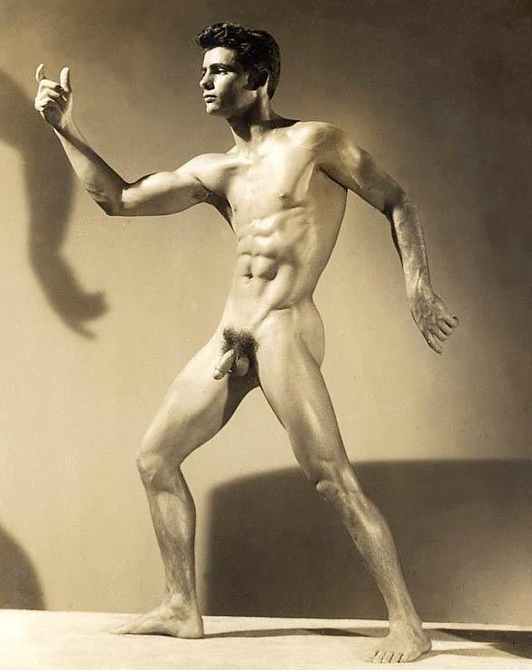 Antique nude men