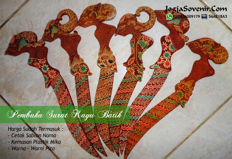 Jual Souvenir Pembuka Surat Batik