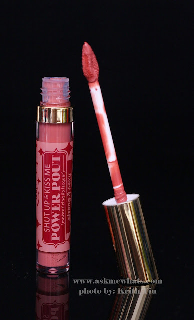 a photo of Happy Skin Shut Up & Kiss Me Moisturizing Matte Lippie and Moisturizing Lip Lacquer