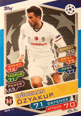 Trikots Topps Champions League 18//19 Sticker 61