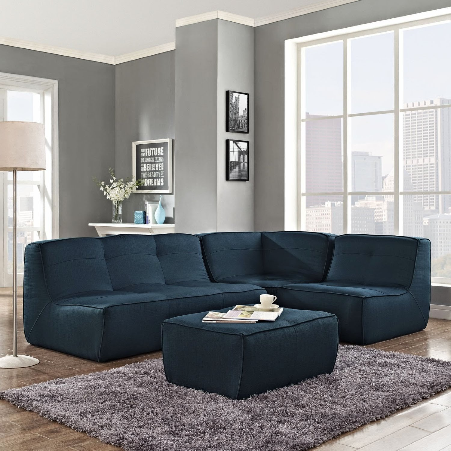 blue couch blue sectional couch. Black Bedroom Furniture Sets. Home Design Ideas