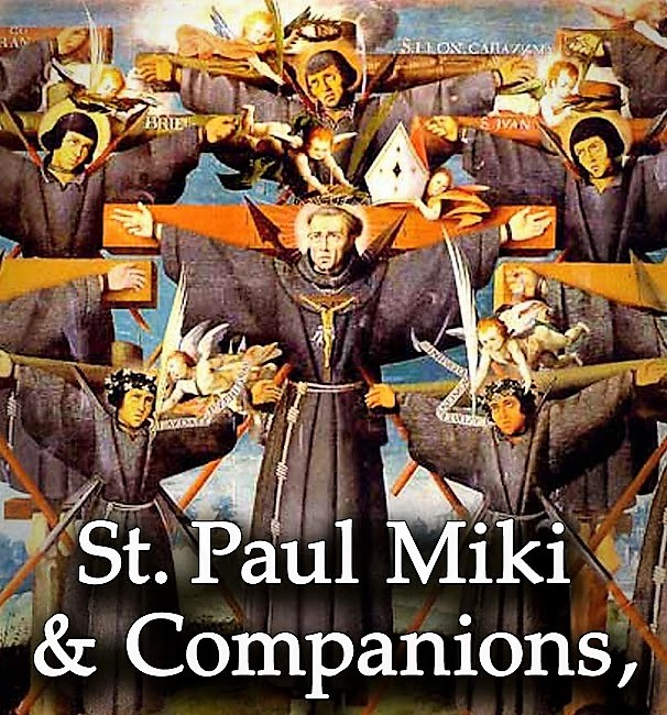"""Image result for Saint Paul Miki and Companions, martyrs"""""""