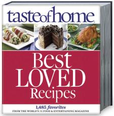 tasteofhome Best Loved Recipes Cookbook