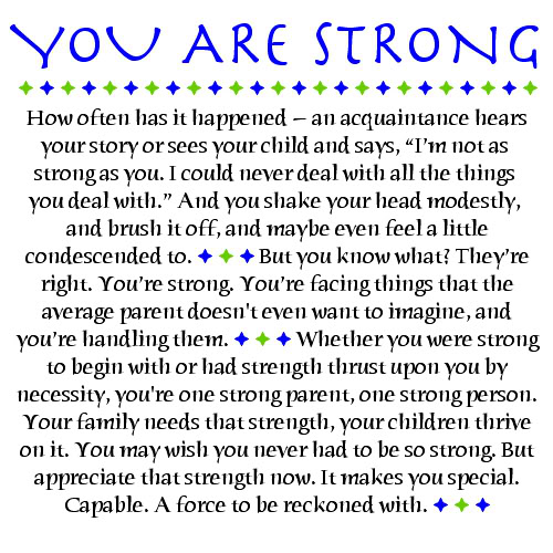 Strong Mother Quotes: Rise Up To Autism: 12 June 2011