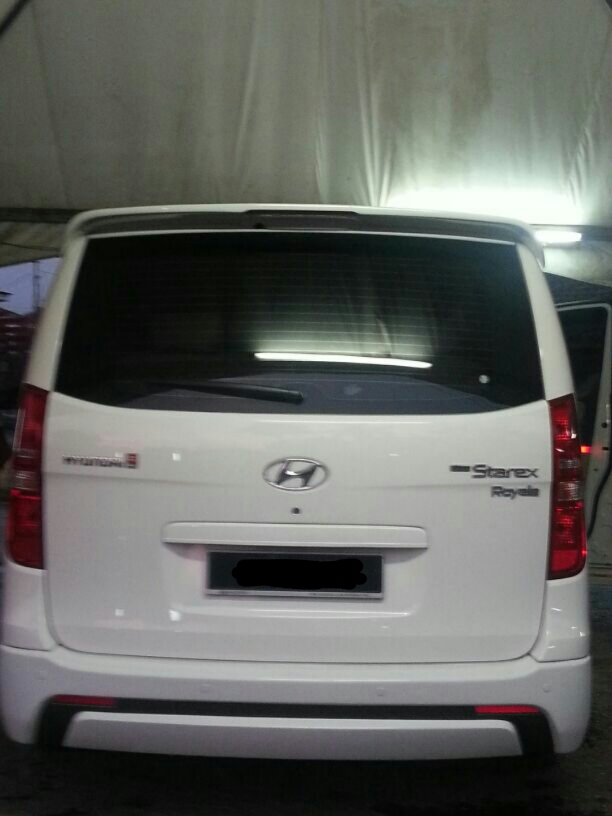 sewa hyundai starex shah alam