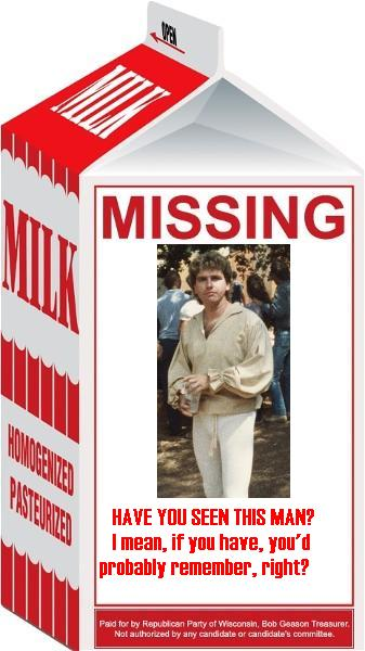 Milk Carton - ImageChef |Missing Person Milk
