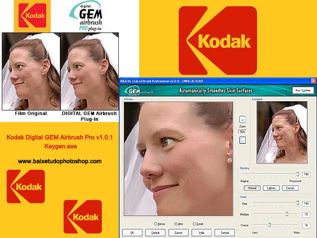 Kodak Digital GEM Airbrush Pro v1 0 1 Keygen exe | Teste BTP