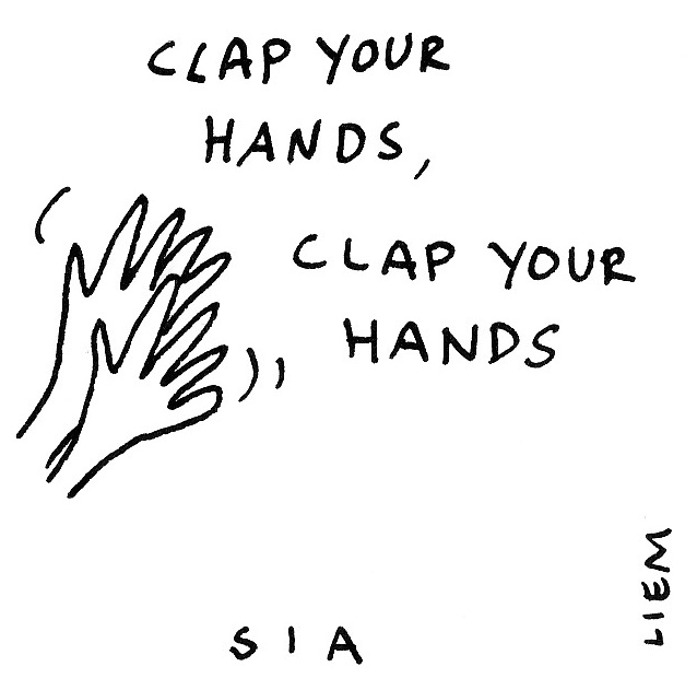 103 Best Images About The Muppets On Pinterest: Sketchbook: 365-Song 51. Clap Your Hands