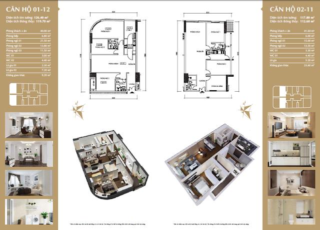 Chi tiết căn hộ Imperial Plaza