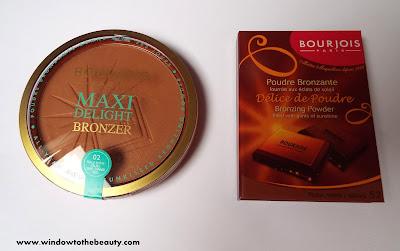 bronzer Bourjois Delice de Poudre Bronzing Powder,