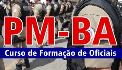 Apostila Polícia Militar BA CFO PM-BA 2017