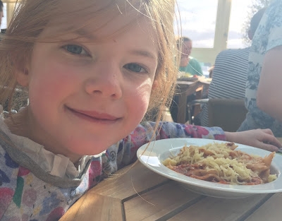 Fish & Chips Friday at Black Horse, Beamish - kids' pasta