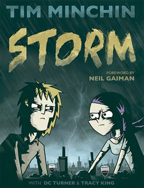 Tim Minchin Storm Graphic Novel Cover