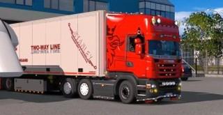 Euro Truck Simulator 2 demo versiune 1.25