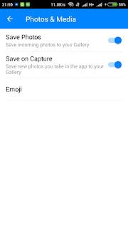 Cara Menonaktifkan Fitur Messenger Yang Menyimpan Foto Otomatis