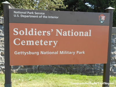 Soldier's National Cemetery in Gettysburg Pennsylvania
