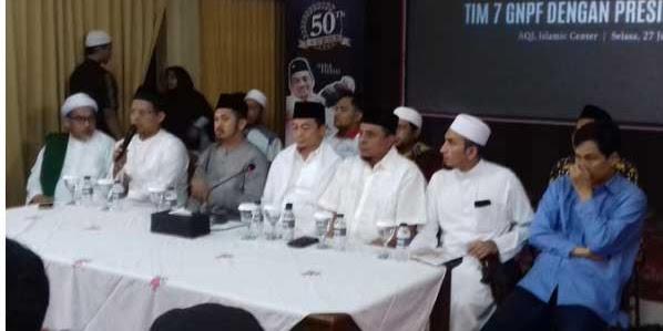 "Risih Pemberitaan Media Ekstrim, GNPF MUI : ""Yang Benar Kami bukan meminta Ketemu Jokowi"""
