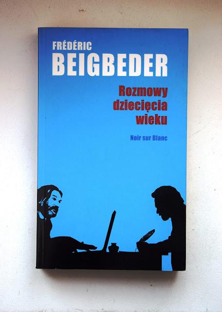 """Recenzje #59 - okładka książki Frederica Beigbedera pt. """"Rozmowy dziecięcia wieku"""" - Francuski przy kawie"""