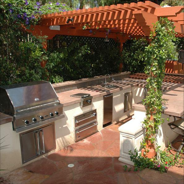 Modular Bbq Outdoor Kitchen: BBQ Grill Resource: The Magic Of Modular