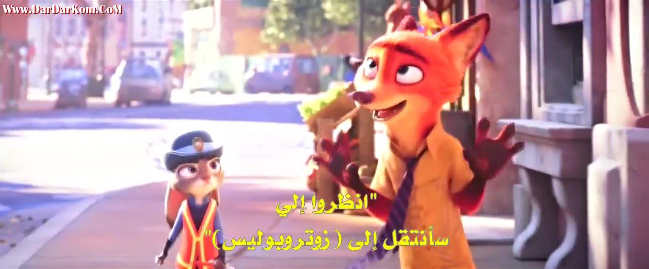 فيلم الانيمشن الاكشن Zootopia 2016 مترجم وكامل عرب فيديو