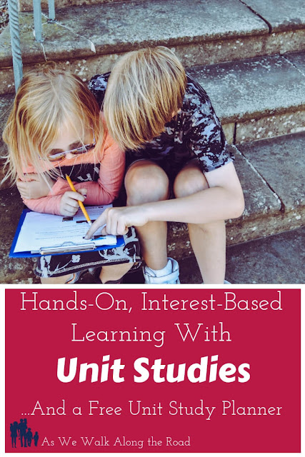 Using #unitstudies in your #homeschool