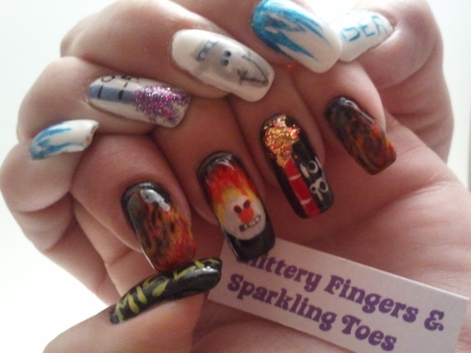 Glittery Fingers Amp Sparkling Toes Mr Heat Miser Amp Mr