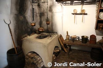 Cocina de la casa de Copérnico en Torun