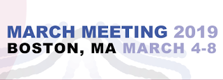 APS March Meeting 2019, Boston MA
