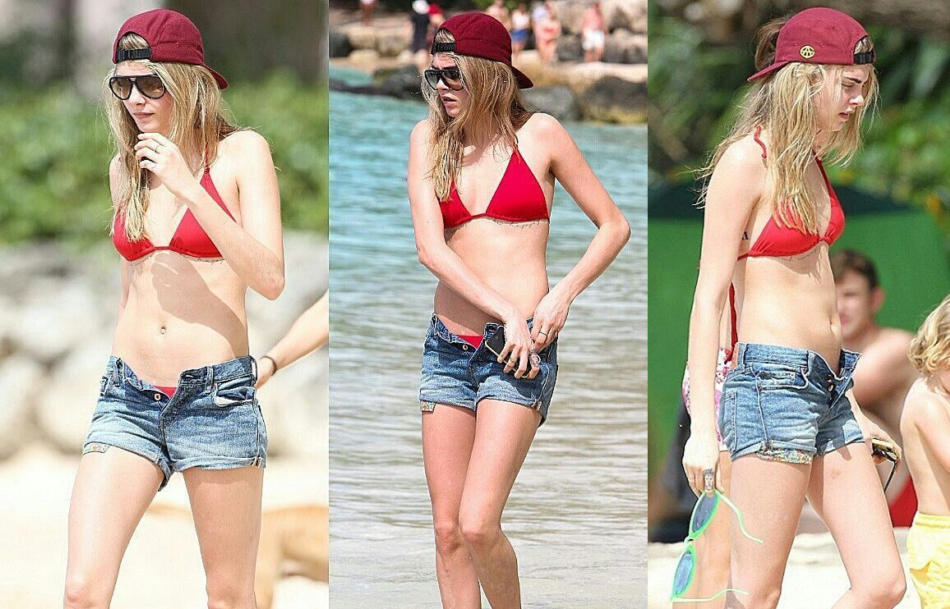 Cara Delevingne Hottest Bikini Pictures